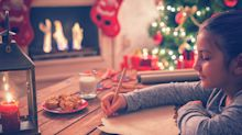 Fewer children than ever before are writing letters to Santa at Christmas