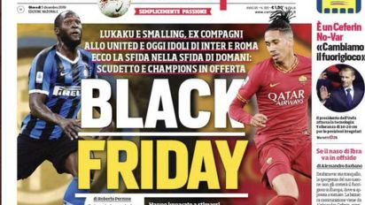 Italian newspaper preview sparks racism storm