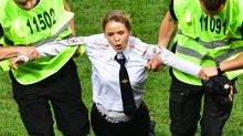 Pussy Riot pitch invaders given jail sentence