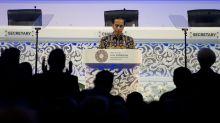 Indonesian president says trade wars too destructive