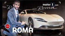 """Ferrari Roma, la nuova coupé """"2+"""" vista e raccontata dal vivo"""