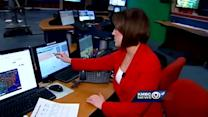 Strong storms possible for your Sunday