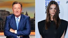 Piers Morgan ridicules Emily Ratajkowski's nude pregnancy photos