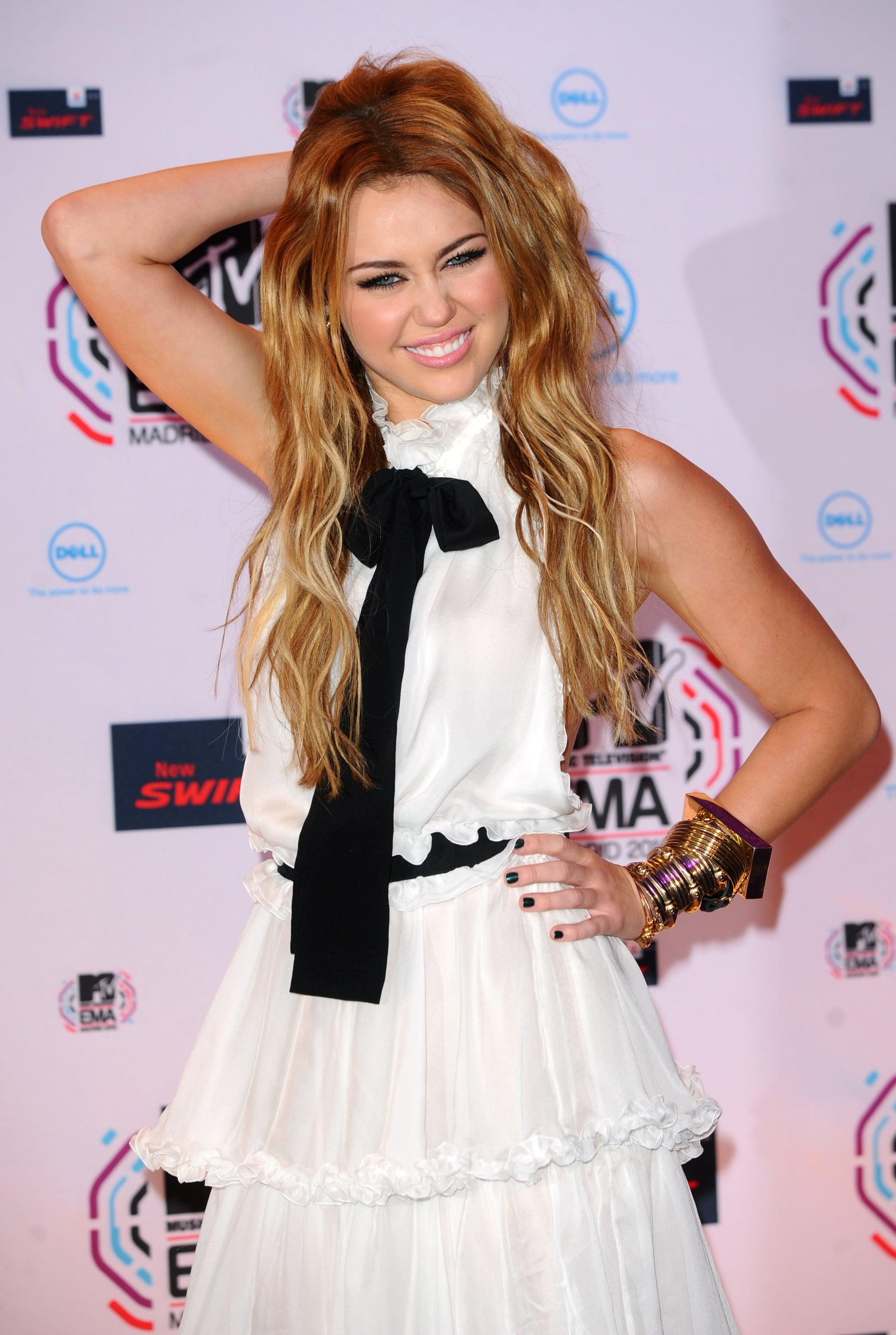Miley Cyrus takes a stand, says she wont walk the red