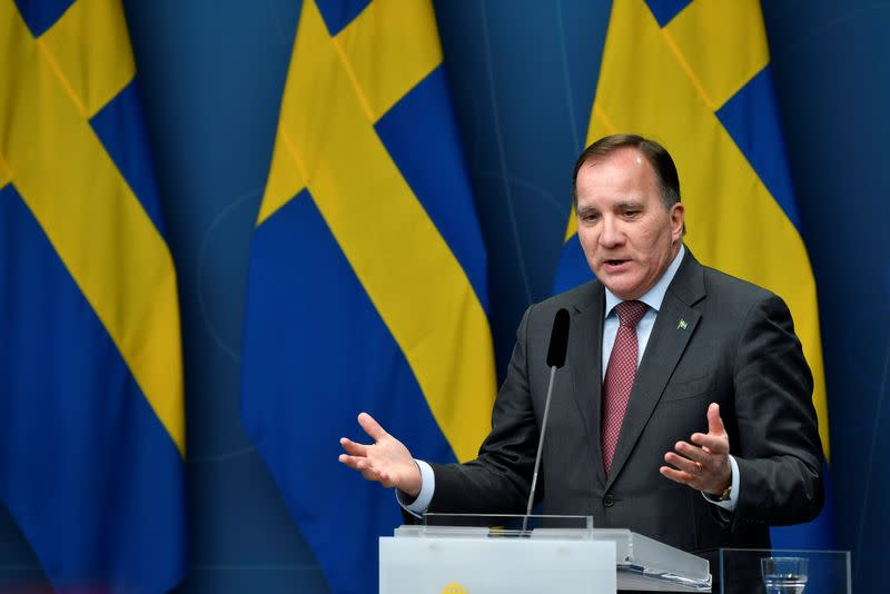 Sweden limits public gatherings as pandemic second wave swells