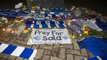 In pictures: Tributes to missing Cardiff striker