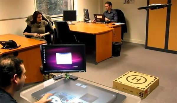 Microsoft's Surface becomes the world's biggest remote control for the AR.Drone (video)