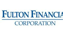 Fulton Financial Corporation Announces the Early Tender Results of its Cash Tender Offer for Certain of Its Outstanding Debt Securities