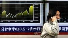 Asian shares mostly gain with geopolitical concerns in the background