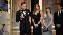 Tom Hiddleston mocked for 'humblebrag speech' at the Golden Globes