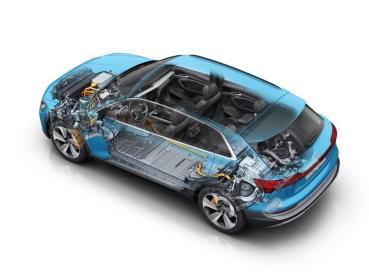 開啟電創未來的四環純電科技核心 Audi e-tron 智能充電與熱能管理系統