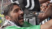 Alegría y lágrimas en el adiós de Juventus a Buffon