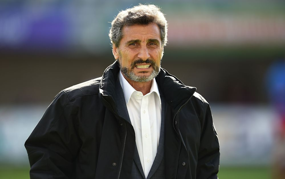 Montpellier's rugby union club President Mohed Altrad - This content is subject to copyright.