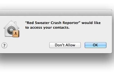 Why apps in Mountain Lion might need to see your address data