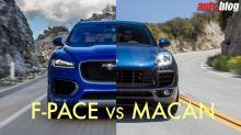 Jaguar F-Pace vs. Porsche Macan | Performance luxury crossover comparison