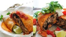 How to Get 2 Scrumptious Meals Out of 1 Huge Burrito
