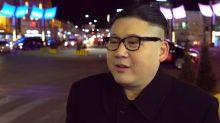 Lookalike pokes fun at 'man babies' Donald Trump and Kim Jong-un at the Olympics