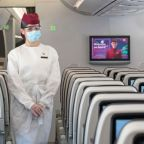 Qatar Airways makes face shields compulsory for economy passengers – but business class can choose