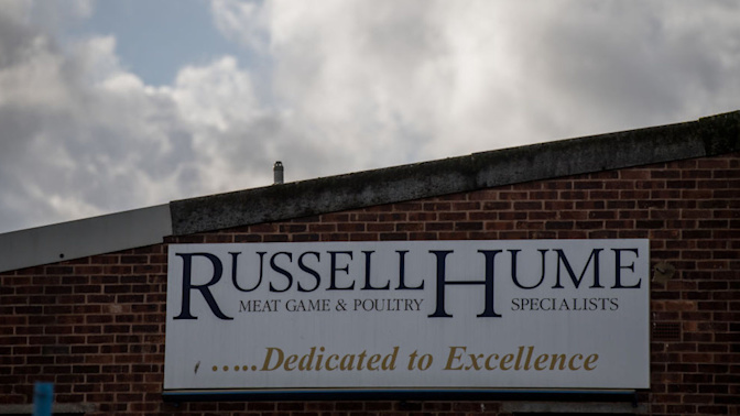 Meat safety scare firm Russell Hume collapses