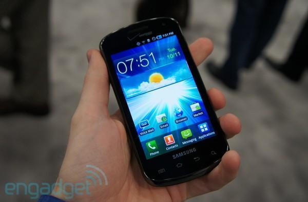 Samsung Stratosphere for Verizon hands-on at CTIA E&A 2011 (video)