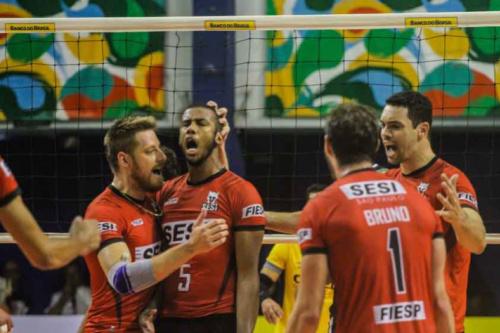 De virada, Sesi-SP conquista primeira vitória nos playoffs