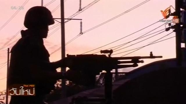 Thai army declares martial law, says not a coup