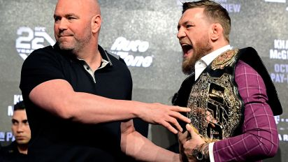 White's scary call after McGregor-Khabib face-off