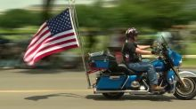 Motorcycles roll through DC for missing veterans