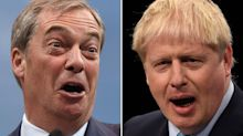 Boris Johnson isn't really a Conservative and 'Middle England' is starting to lose hope in him, says Nigel Farage