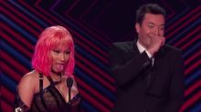 Nicki Minaj Makes Jimmy Fallon Blush By Openly Thirsting After Michael B. Jordan