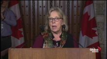 Elizabeth May: The window to address climate change is closing