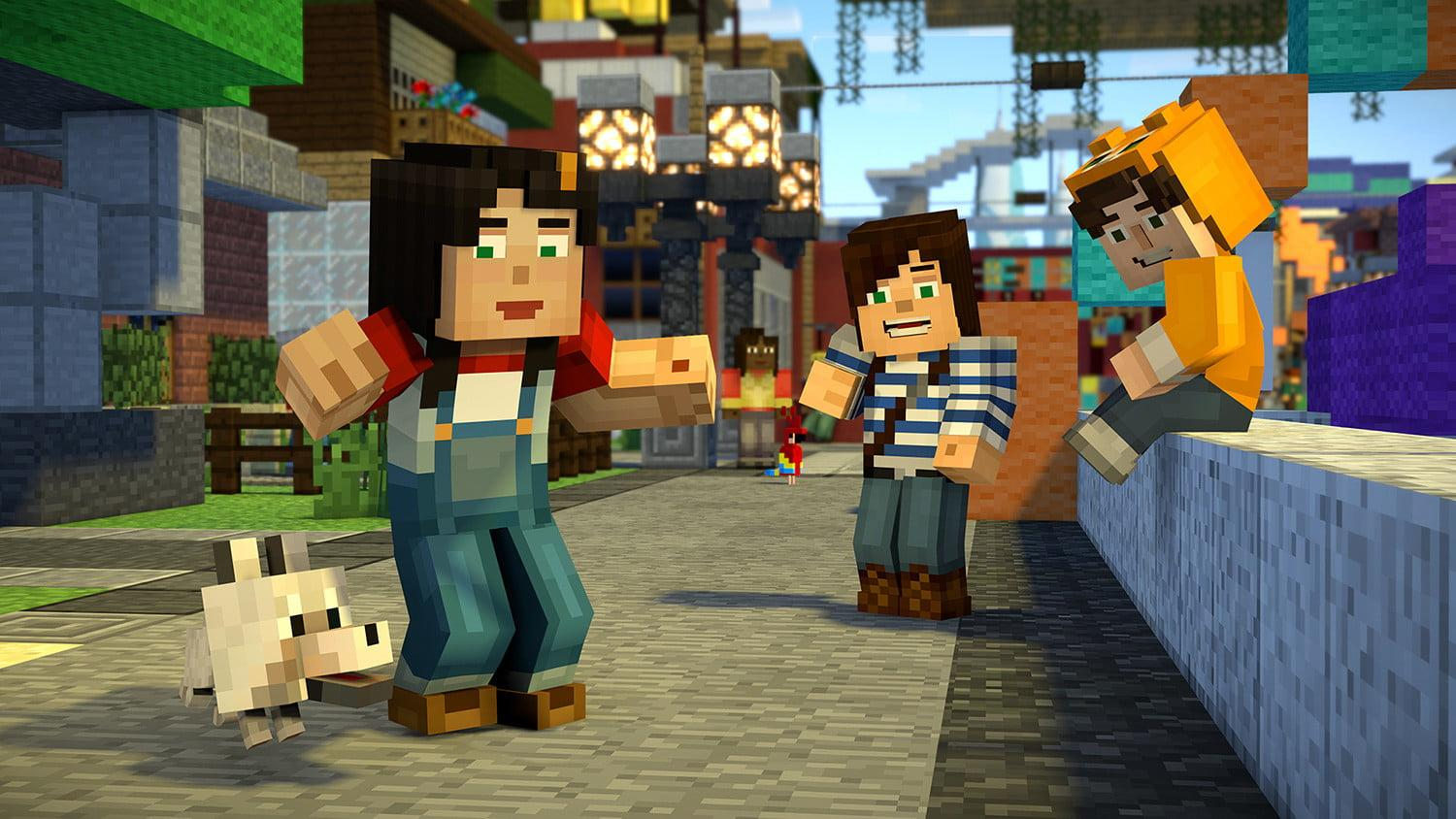 Minecraft Story Mode Season 2 Episode 1 Review