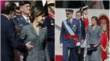 Todos los looks de Letizia en la Fiesta Nacional