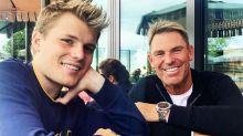 Shane Warne defends his parenting after son's startling claim