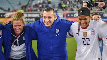 Andonovski's uniquely American path to USWNT