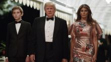 Melania Trump brach an Silvester ihre modische Tradition