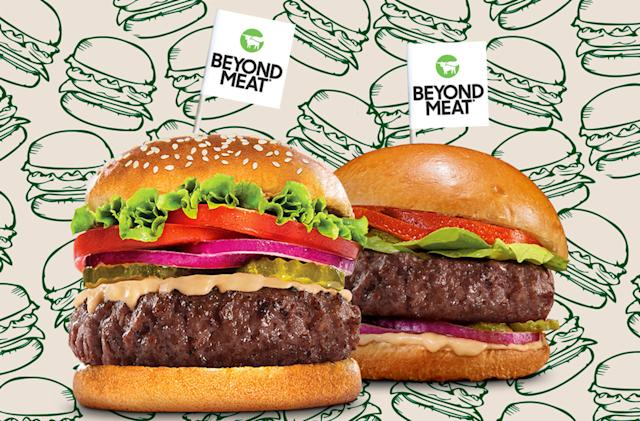 Beyond Meat says its new plant-based burgers are juicier and healthier