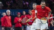 Kyrgios gets one over Nadal at Laver Cup