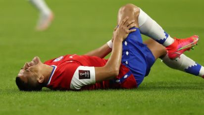 Soccer-Chile's Sanchez out of Copa America group stage with foot injury