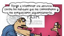 Los pobres políticos mexicanos a los que 'obligaron' a enriquecerse