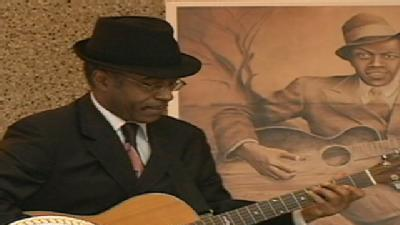 Blues Legend Honored
