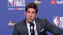 Warriors GM Bob Myers Cries Over Kevin Durant Injury: 'You Can Blame Me'