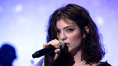 Lorde in stoush with Kanye West