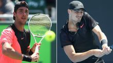 Tomic, Kokkinakis win first French Open qualifiers