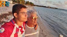 'Pra sempre', diz Lulu Santos ao completar um ano com Clebson Teixeira