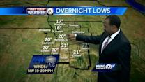 More flakes to fall, then warm-up starts