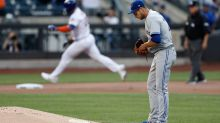 Megill earns 1st win, Alonso homers twice as Mets blank Jays