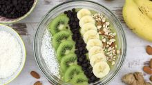 How to make a smoothie pudding bowl
