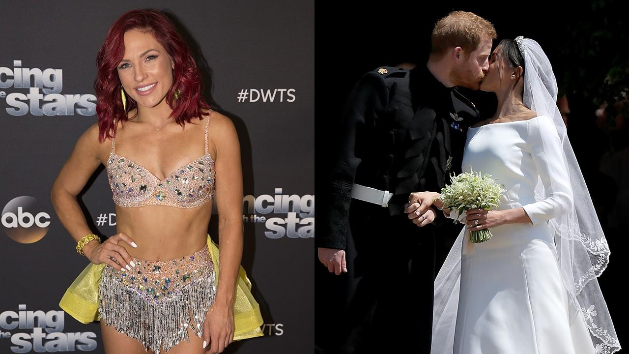 'DWTS' Pro Sharna Burgess Gushes Over 'Fairytale' Royal Wedding: 'It Gives Us Single Girls Hope' (Exclusive)