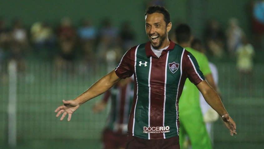 Nenê marcou seu primeiro gol em 2020 (LUCAS MERÇON/ FLUMINENSE F.C.)
